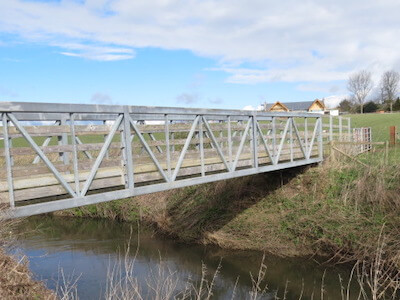 Loccombe Footbridge Somerset